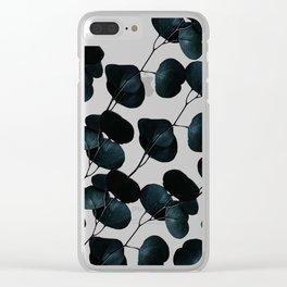 Dark Leaves #society6 #artforsale Clear iPhone Case