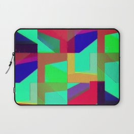 Colorful Truth. Green. Laptop Sleeve