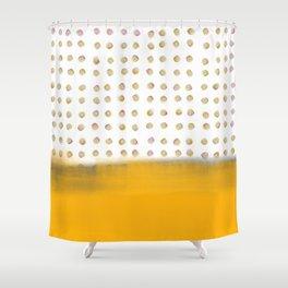 dot dot dot Shower Curtain