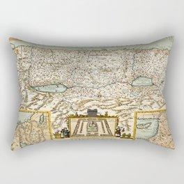 Map Of Israel 1660 Rectangular Pillow