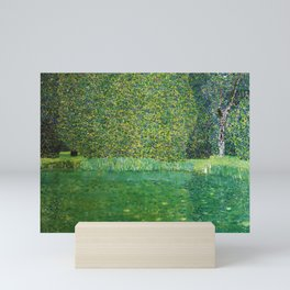 """Gustav Klimt """"Pond of Schloss Kammer on Attersee"""" Mini Art Print"""
