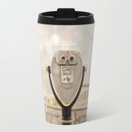 the only limitations you have Travel Mug