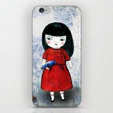 Blanca Bird iPhone & iPod Skin