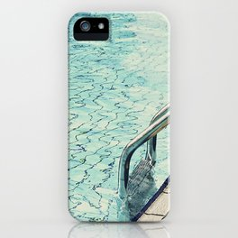 Summertime swimming iPhone Case