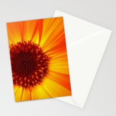 marigold macro Stationery Cards