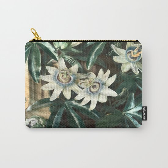 Passion for Passiflora Carry-All Pouch