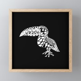 Toucan Le Bird Ecopop Framed Mini Art Print