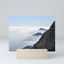 San Gabriel's Fog Mini Art Print