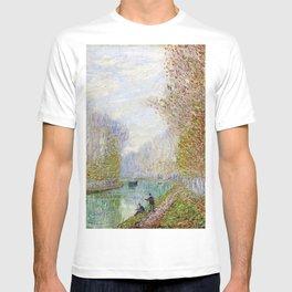 River Seine, Autumn, Paris, France by Francis Picabia T-shirt