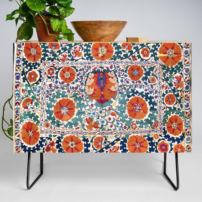 Shakhrisyabz_Suzani_Uzbekistan_Antique_Embroidery_Print_Credenza_by_Vicky_BragoMitchellAr__Black__Birch