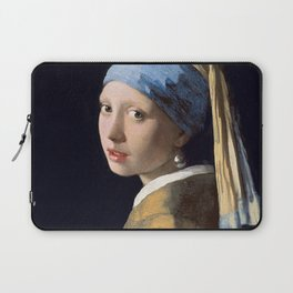 GIRL WITH A PEARL EARRING - JOHANNES VERMEER Laptop Sleeve