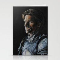 lannister Stationery Cards featuring Jaime Lannister by HevArtScenic
