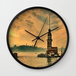 KIZ KULESİ Wall Clock