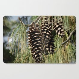 Pinecones  Cutting Board