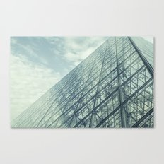 Louvre Pyramid Paris Canvas Print