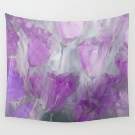 Shades of Lilac Wall Tapestry