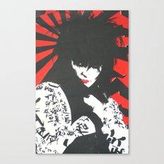 Siouxsie & The Banshees Canvas Print