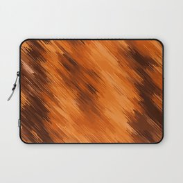 brown orange and dark brown painting texture abstract background Laptop Sleeve