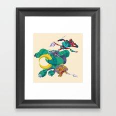 Battle Beasts - Trio 4 Framed Art Print