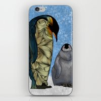 virginia iPhone & iPod Skins featuring Emperor Penguins by Ben Geiger