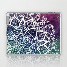 Free Spirit Floral Mandala Laptop & iPad Skin