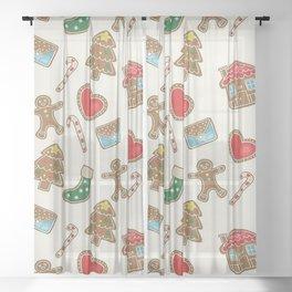 Christmas Now Sheer Curtain