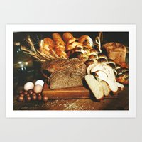 food Art Prints featuring Food by Kathrin Legg