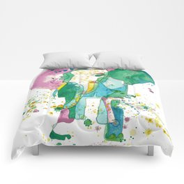 Elephant Matriarch Comforters