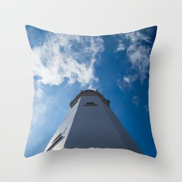 Withernsea Lighthouse Throw Pillow