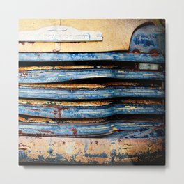 rust to perfection  Metal Print