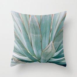 Minimalist Agave Throw Pillow