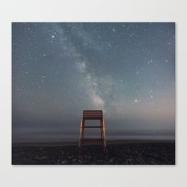 Chair with a View Canvas Print