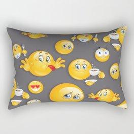 Emoji Pattern 5 Rectangular Pillow