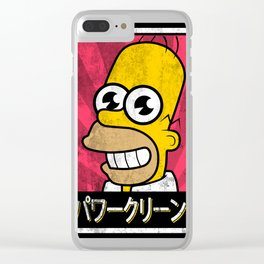 Homer Mr sparkle Clear iPhone Case