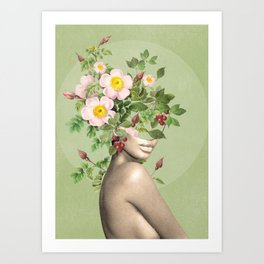 Floral beauty 11 Art Print