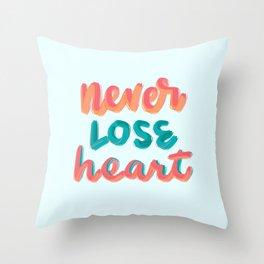 2 Cor 4:16 Throw Pillow