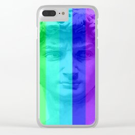 Gay David Clear iPhone Case