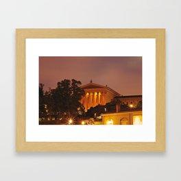 Philadelphia Art Museum Framed Art Print