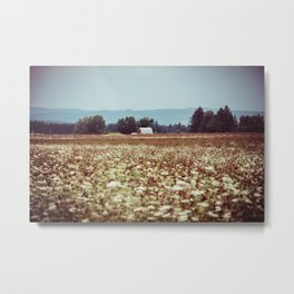 In The Country Metal Print