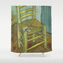 Van Gogh's Chair Shower Curtain