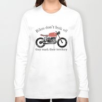 oil Long Sleeve T-shirts featuring oil by The Junkers