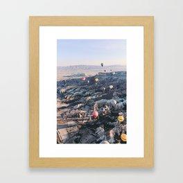 Kapadokya, Turkey #society6 #decor #buyart Framed Art Print