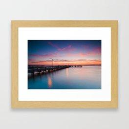 Summer's Glow Framed Art Print