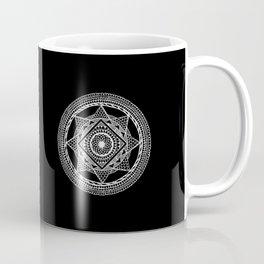Abstract Mandala white Coffee Mug