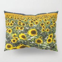 Sunflower Fields Of Summer Pillow Sham