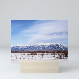 Sayan Mountains Mini Art Print