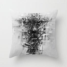 مكسور Throw Pillow