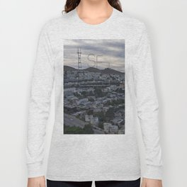 San Francisco - Sutro Tower Chill Long Sleeve T-shirt