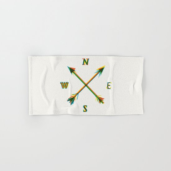 Compass Hand & Bath Towel