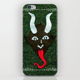 Krampus Sweater iPhone Skin